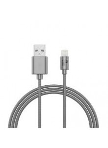 BeHello Charge and Synch Cable Lightning 1m Braided Silver