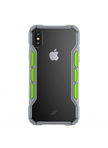 Element Case - Rally (Xs/X) - Light grey/Lime