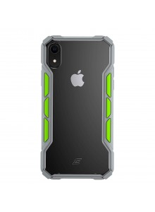 Element Case - Rally (XR) - Light grey/Lime