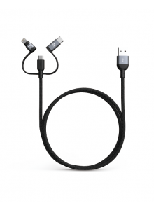Adam Elements Peak Trio 120B Lightning Cable - Gray