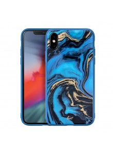 LAUT Mineral Glass (for iPXS Max) Mineral Blue