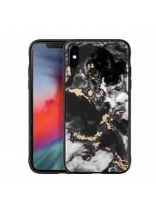 LAUT Mineral Glass (for iPX/XS) Mineral Black