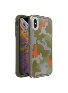 LIFEPROOF SLAM GRAPHIC SERIES FOR IPHONE XS MAX, WOODLAND CAMO