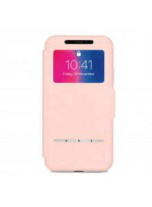 Moshi SenseCover for iPhone Xs/X Luna Pink