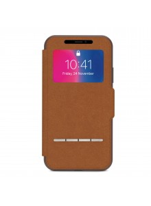 Moshi SenseCover for iPhone Xs/X Caramel Brown