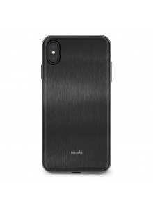 Moshi iGlaze for iPhone XS Max Armour Black