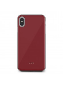 Moshi iGlaze for iPhone XS Max Merlot Red