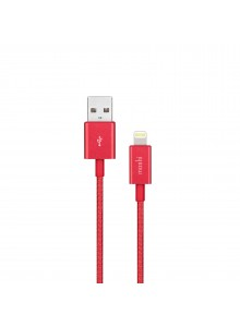 Moshi Integra USB-A Charge/Sync Cable with Lightning connector Crimson Red