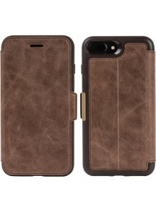 OtterBox Strada Series for iPhone 7 Plus/8 Plus, Espresso