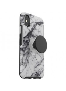 OTTERBOX OTTER + POP SYMMETRY iPhone X/Xs, WHITE MARBLE