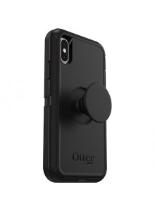 OTTERBOX OTTER + POP DEFENDER iPhone X/Xs, BLACK