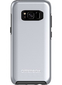 OtterBox Symmetry Series for Samsung Galaxy S8, Titanium Silver