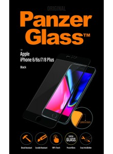 PanzerGlass PREMIUM iPhone 6/6s/7/8 Plus, Jet Black (3D)