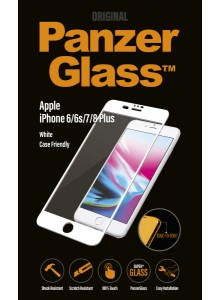 PanzerGlass CASE FRIENDLY iPhone 6/6s/7/8 Plus, White (2.5D)
