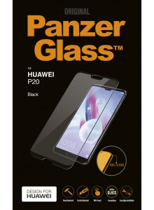 PanzerGlass CASE FRIENDLY for Huawei P20, Black (2.5D)