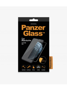 PanzerGlass CASE FRIENDLY iPhone X/Xs/11 Pro, Black (2.5D)