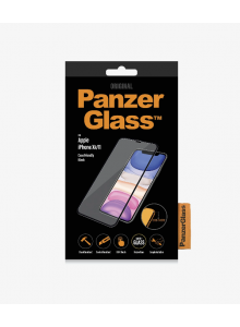 PanzerGlass CASE FRIENDLY iPhone XR/11, Black (2.5D)