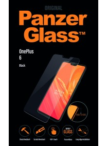 PanzerGlass CASE FRIENDLY for OnePlus 6, Black (2.5D)
