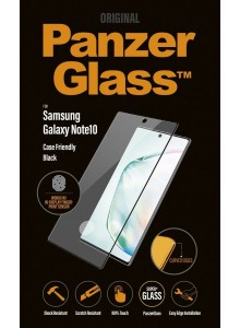 PanzerGlass CASE FRIENDLY Note10, Black (2.5D)