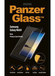 PanzerGlass CASE FRIENDLY Samsung Note9, Black, PRIVACY (2.5D)