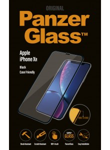 PanzerGlass CASE FRIENDLY iPhone XR, Black  (2.5D)