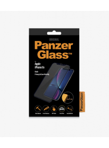 PanzerGlass CASE FRIENDLY iPhone XR, Black, PRIVACY  (2.5D)