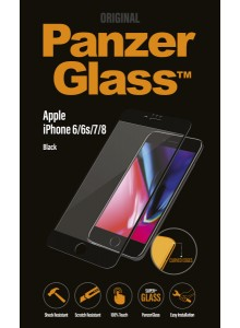 PanzerGlass PREMIUM iPhone 6/6s/7/8, Jet Black (3D)