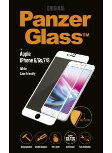 PanzerGlass CASE FRIENDLY iPhone 6/6s/7/8, White (2.5D)