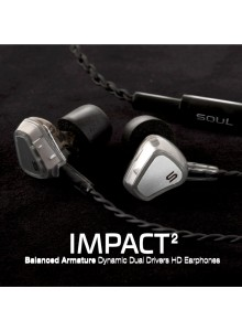 SOUL BALANCED ARMATURE DYNAMIC DUAL DARIVERS HD WIRED EARPHONE- SILVER