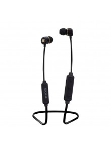 SOUL HIGH PERFORMANCE EARPHONES WITH BLUETOOTH, PRIME WIRELESS BLACK