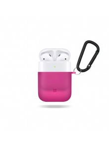CASESTUDI EXPLORER POLYCARBONATE AIRPOD CASE Shocking Pink