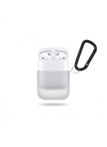CASESTUDI EXPLORER POLYCARBONATE AIRPOD CASE Pearl White